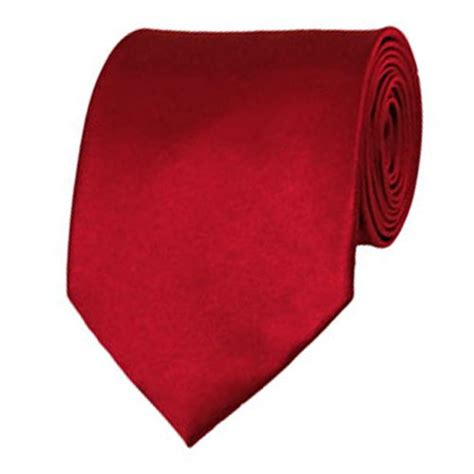 solid color neckties crimson neckties solid color ties stanard size