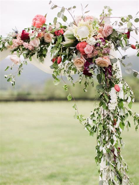 Wedding Arch Flowers by Wedding Flowers My Wedding Guides