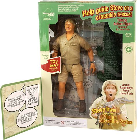 Company To Make Steve Irwin Figure by Republic Links Launch Of Irwin Product With Earth Day