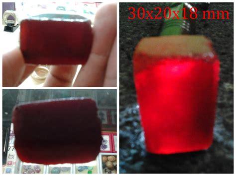 Batu Akik Mirah Siam Obsidian batu akik padang obsidian merah siam code aproms170