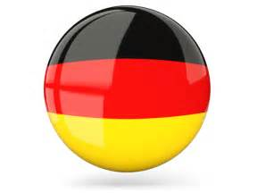 Glossy round icon. Download flag icon of Germany at PNG format V And S Logo Design