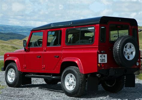 red land rover defender land rover defender price modifications pictures moibibiki