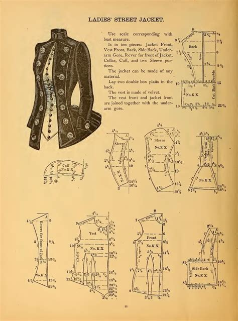 jacket pattern making books the national garment cutter book of diagrams goldsberry