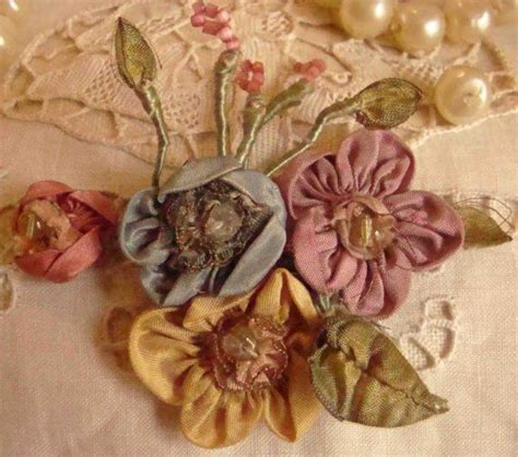 Sprei Sweet Ribbon Pink 207 best vintage ribbonwork images on ribbon