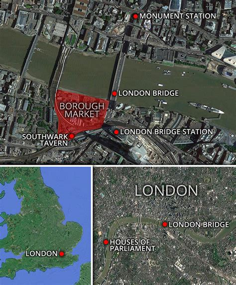 borough market stabbing london terror attack is london bridge station open