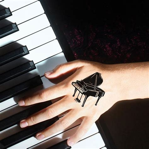 piano tattoo 60 amazing piano tattoos