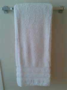 Hanging Bathroom Towels Decoratively Homekeeping Tip A Better Way To Fold Towels Campclem