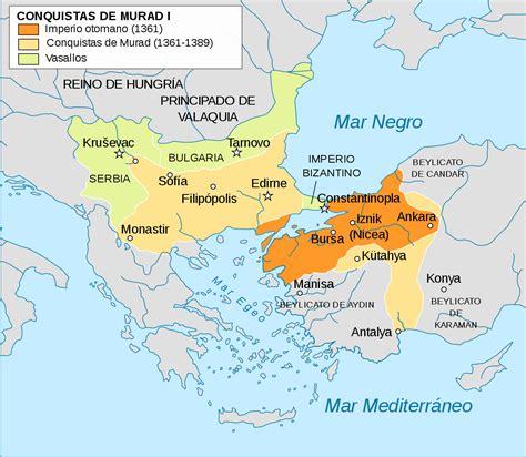 mapa imperio otomano cronolog 237 a imperio otomano la