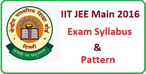 pattern of iit jam iit jam 2016 exam syllabus and pattern of maths physics