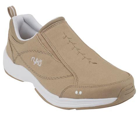 ryka slip on sneakers ryka promenade canvas slip on sneakers w goring page 1