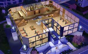 Gym Floor Plan Mod The Sims The Mighty Gym