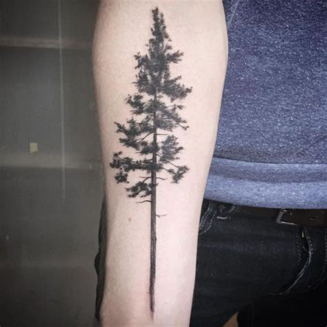 pine tattoo image result for pine tree geometric tattoos