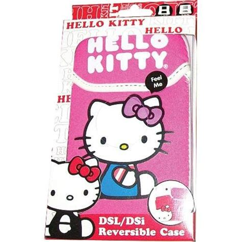 hello kitty nintendo ds hello kitty reversible case ds lite dsi 3ds