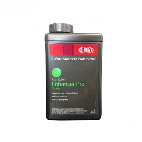 dupont stonetech professional enhancer pro sealer 1 quart