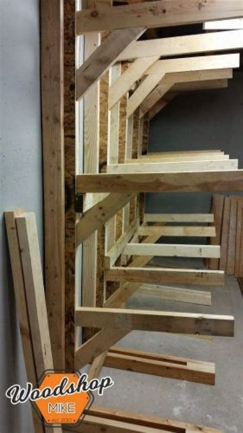 build   standing lumber rack check   project
