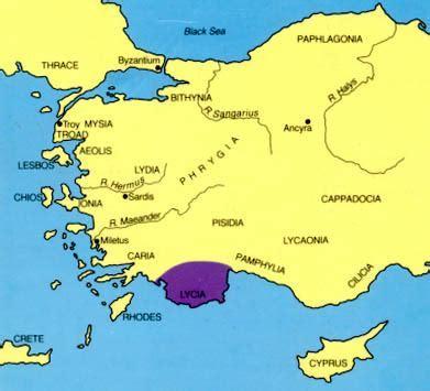 lycia map locator