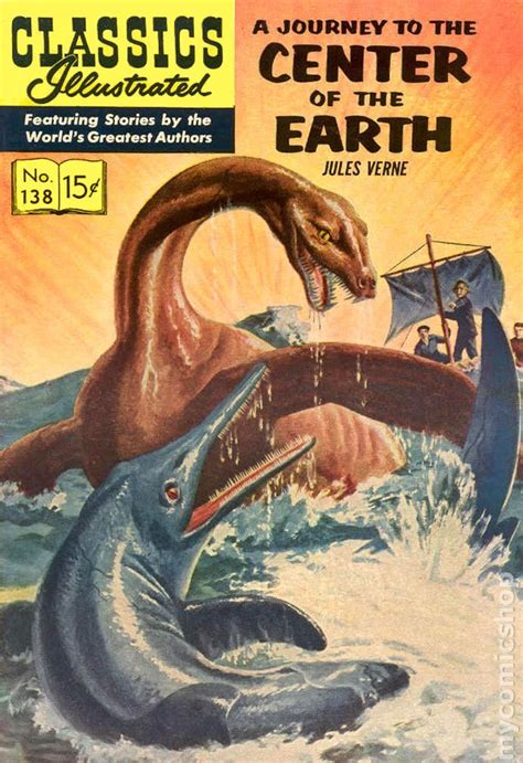 journey to the center of the earth books classics illustrated 138 journey to the center of the
