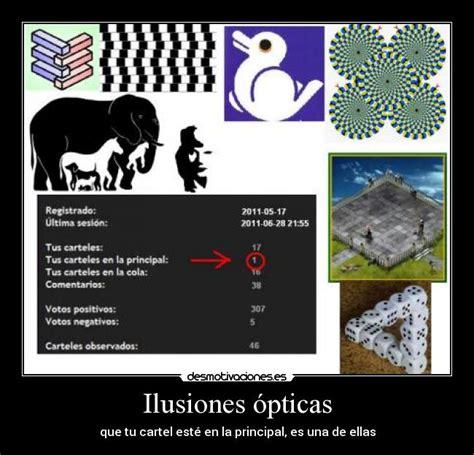 ilusiones opticas graciosas ilusiones 243 pticas desmotivaciones