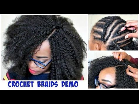 what typenof marley hair to buy for crochet braids watch me do crochet braids invisible part method w