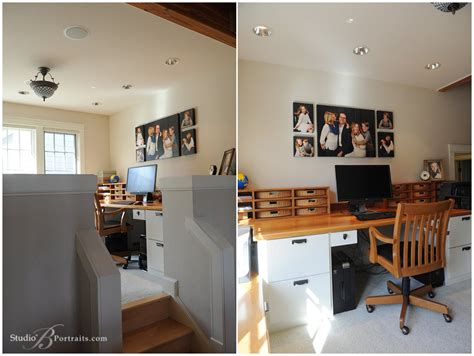 how to decorate your home office how to decorate your home office with family portraits