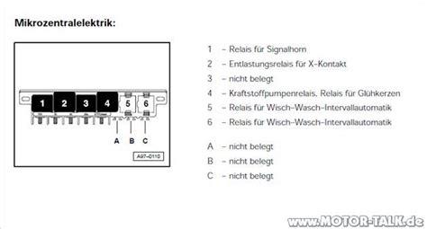 Motorrad Blinker Gehen Nicht by Audi A4 B5 Entlastungsrelais Fuer X Kontakt
