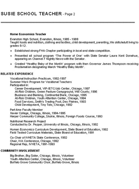 Resume Sles For Teaching College Middle School Math Resume Sales Lewesmr