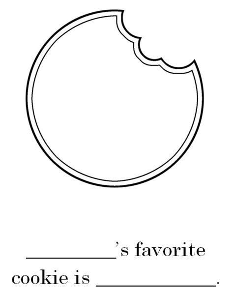 cookie template numeroff coloring pages coloring pages