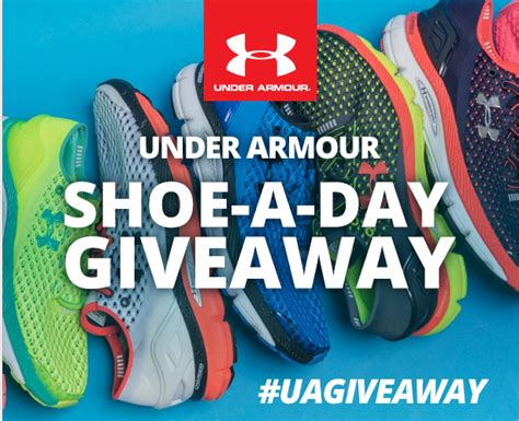 Shoe Giveaways On Instagram - free under armour shoe a day giveaway mojosavings com