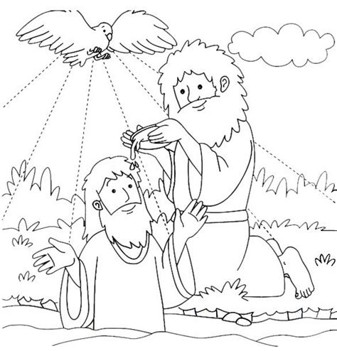 free bible coloring pages of john the baptist john the baptist coloring page printable coloring image