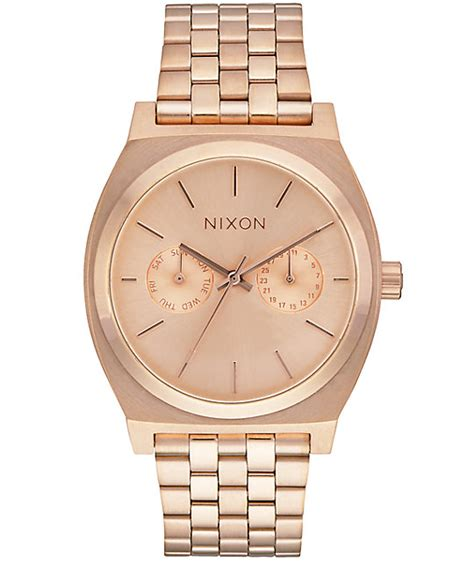 Nixon A9271604 Time Teller Deluxe nixon time teller deluxe analog at zumiez pdp