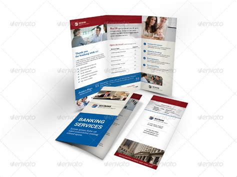 credit card brochure template 18 banking brochures free psd ai eps format