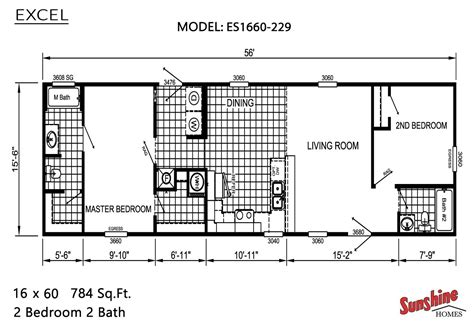 exle building plans developer 2 bedroom house excel es1660 229 by cedar creek homes mo