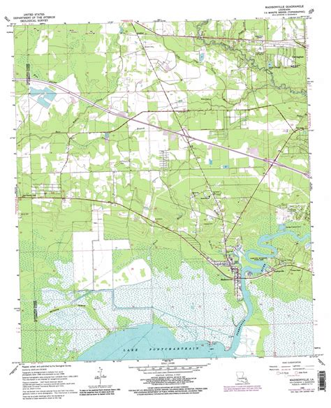 madisonville map madisonville topographic map la usgs topo 30090d2