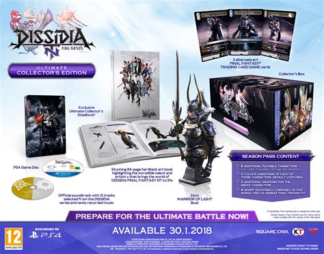Vcd Original Cabaukan Collectors Edition dissidia nt ultimate collector s edition giveaway uk rpg site