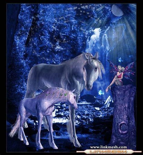 imagenes de unicornios con mujeres el hada y el unicornio unicornios