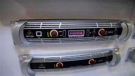 Power Lifier Behringer Inuke namm 2011 behringer inuke power lifier series