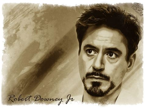 Robert Downey Hd Wallpaper