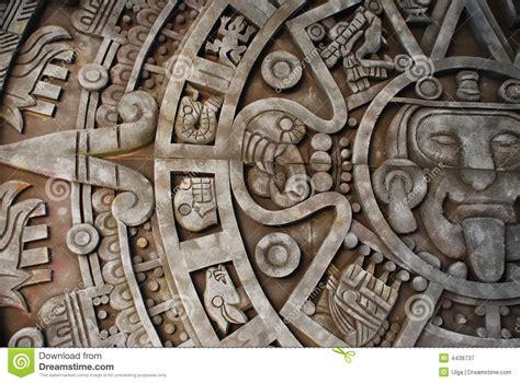 imagenes de aztecas en 3d calendario azteca imagen de archivo imagen de historia