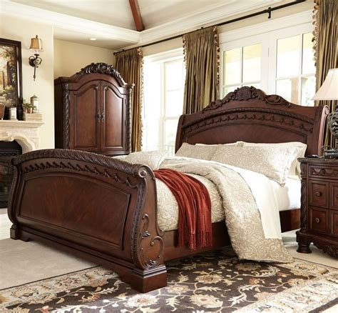 buy north shore panel bedroom set by millennium from www 1000 ideas about sleigh beds on pinterest bedroom sets