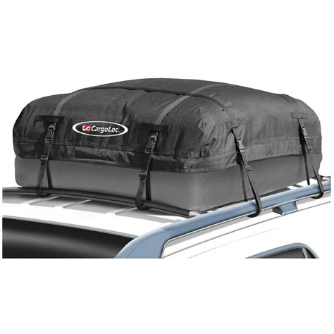 Cargo Bag For Roof Rack by Cargo Roof Top Carrier Bag Rack 10 Cubic Ft Storage