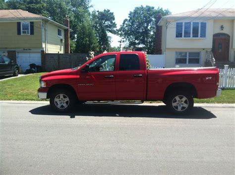 2005 dodge ram 1500 4 door purchase used 2005 dodge ram 1500 slt crew cab 4