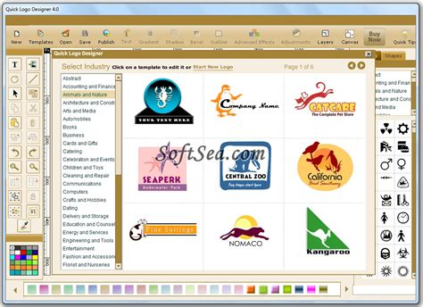 html quick design quick logo designer screenshot