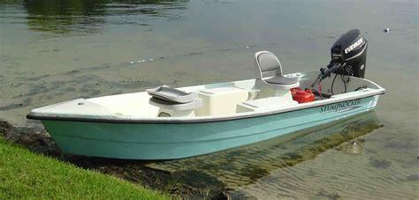 panga boat stability 144 skiff tiller stumpnocker by salty boats