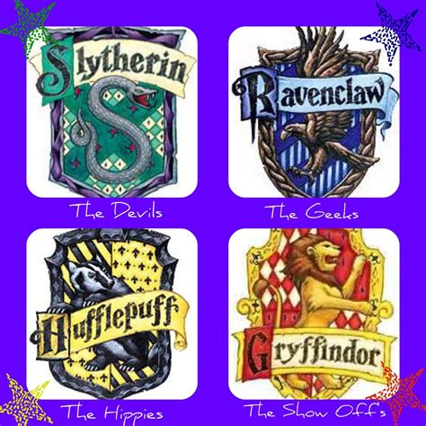 4 Houses Of Hogwarts by Hogwarts Houses By Lubyloo700 On Deviantart