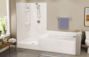 Small Bath And Shower Combo Bathroom Sterling Bathtub Shower Design For Small