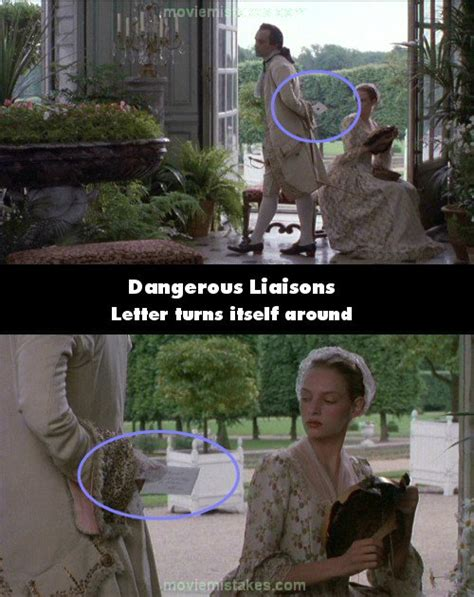 john malkovich billions quotes dangerous liaisons 1988 movie mistakes goofs and bloopers