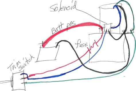 mercury tilt and trim wiring diagram wiring diagrams