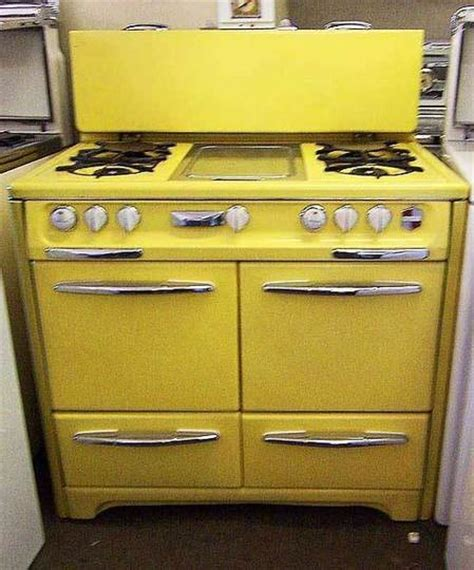 yellow kitchen appliances 153 best images about vintage stoves on pinterest