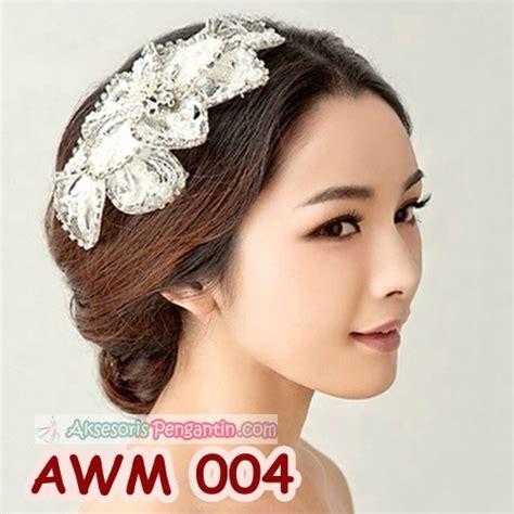 Aksesoris Hairpieces Pengantin Hiasan Rambut Wedding Lace Awm 00 jual aksesoris sanggul lace pesta wedding l hiasan rambut