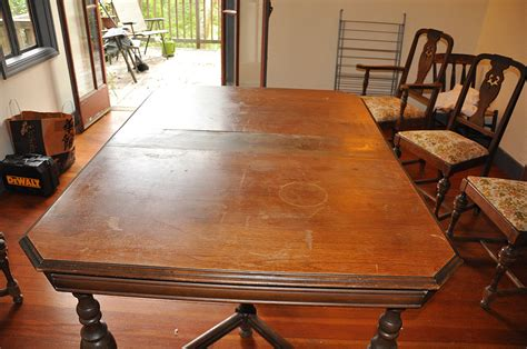 how to refinish dining room table and chairs diy on refinishing an table and chairs popsugar